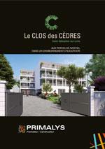 Brochure le clos des cèdres Primalys