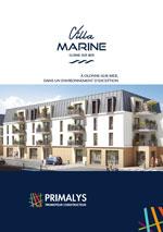 Brochure Villa Marine Primalys