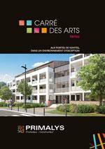 Brochure carré des arts Primalys